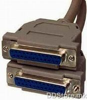 Cable RS-232 Data F/F 1.8m DB25F