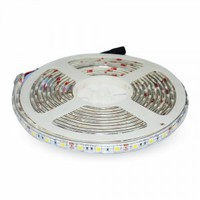 LED Strip SMD5050 - 60 LEDs White Non-waterproof 10W/m 12lm/led 120° SKU : 2126