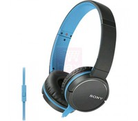 SONY MDRZX660APL.CE7, Overhead headphones, Blue, closed type, hands-free mic&button, 40mm neodymium driver unit, compact folding hinge
