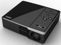 Mini Projector - WXGA (1280x800) nativ - max. 1600x1200 - 200 ANSI - 2400:1 - 16:10 native - fixed zoom - HDTV (480i, 480p, 576i, 576p, 720p, 1080i, 1080p) - D-Sub/RCA/USB/HDMI/Composite/Card Reader (SD, SDHC up to 16GB)/iPod/iPhone Universal Dock -