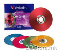 DVD-R 4.7GB 16x Verbatim 5pcs Slimcase