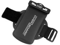 Overboard OB1051BLK, Waterproof hand case for mobile phone, ipod, Use for fitness and running, black