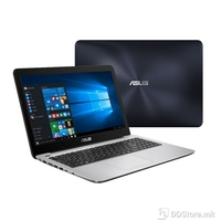 "ASUS K556UQ-DM002D (FHD, DARK BLUE/SILVER), Intel Core i7-6500U (2.5GHz up to 3.1GHz, 2 cores, 4M Cache, 15w), 8GB DDR4 2133MHz (4GB on-board), 1TB 5400rpm, 2.5"", NVIDIA GeForce 940MX (N16S-GTR) 2GB DDR3, BT4.0, 38WHrs, 2-cell Li-ion  Polymer Battery"