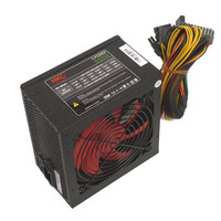 HKC Power Supply 650w, 12CM fan, 20+4pin, SATA, 1xPCI-E(6pin), 1xPCI-E(6+2pin), 8 pin (4+4)