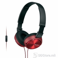 Headphones Sony MDR-ZX310R Red