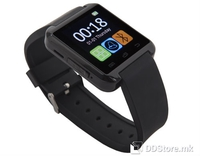 "GOCLEVER CHRONOS COLOUR 2 SmartWatch Black 1.5"" w/BT/Touch/Fitness Splash Proof"