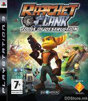 PS3 Ratchet &Clank Tools of Destruction PLATINUM