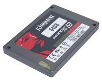 "Kingston SSD V100 2,5"" SATAII 64GB Desktop"
