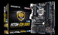 MB Gigabyte H170M-D3H DDR3 LGA1151 DDR3 1866MHz OC SATA/Express M.2 USB3.0 GBit LAN HDMI/DVI/VGA
