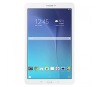 """Samsung SM-T560 Galaxy Tab E, White/Aluminium Frame 8GB WiFi Tablet + White Netbook Bag for 10"""" Netbook, 9.6"""" Main Display Size, TFT Multi-Touch capacitive touchscreen, 16 Milions colors, 1280 x 768 pixels, 149 ppi pixel density, Multitouch TouchWiz"""