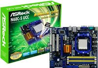 ASROCK N68C-S UCCNVIDIA GeForce 7025, System Hyper Transport 2000 MT/s, Memory Dual Channel 2xDDR3 - 1600MHz, 2xDDR2 - 1066MHz, Graphic card Integrated NVIDIA® GeForce 7025 graphics DX9.0 VGA, Pixel Shader 3.0 Max. shared memory 256MB, Graphic slot