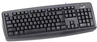 GENIUS KB-110X, USB, Black keyboard with palmrest,