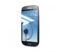 Screen Protector for Samsung Galaxy S3, Retail Pack, Clear