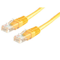 21.15.0552-50 ROLINE UTP Patch Cord Cat.5e, yellow, 3.0m