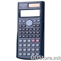 Grundig Scientific calculator, 10+2 digits in 2 lines, 240 functions, dual power, model 86833