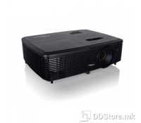 OPTOMA Projector DLP W330 Texas instruments technology, black color, Wide screen HD ready, Full 3D technology, 3000ANSi Lumens, 20000:1 contrast, WXGA (1280x800), built in speaker, HDMI 1.4 with 3D support, VGA (YPbPr/RGB), S-Video, Composite, Audio