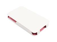 Футрола Torbica Teracell flip top SLIM за Iphone 4 бела