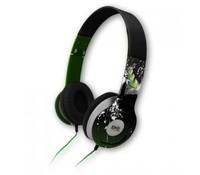 CPL HP1840 Foldable Big Headphones STREET, Green/black