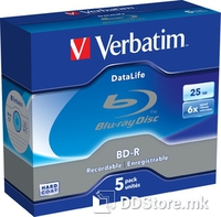 BD-R 25GB 6x Verbatim Datalife 5pcs Jewelcase