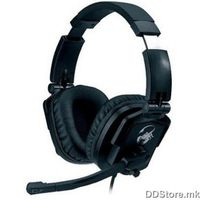 Genius HS-G550, gaming headset, volume control, adjustable headband, mic., GOLD PLATED 3.5mm connector