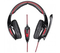 Hama 53986 Fire Fighter PC Gaming Headset, New model 2016, black