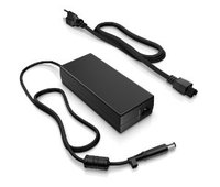 Hewlett Packard Notebook Adapter 120W, 19V, 6.5A, PIN Size: 7.4 x 5.0 black with pin inside with Notebook Power Cable, 3 pins, black, 1.8m, EU plug