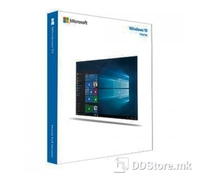 Microsoft Windows 10 Home 64-bit English, DVD