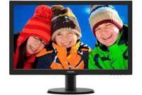 "Monitor 22"" Philips 223V5LHSB Slim V-Line, Full HD, 5ms, VGA,HDMI, Black"