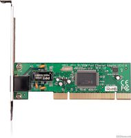 TP-Link TF-3200 10/100Mbps PCI Networks Interface Card, IC Plus IP100A chip, RJ45 port, driver CD, retail package, without Bootrom socket