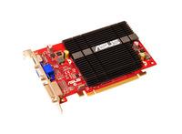 ®EAH4350 SILENT/DI/1GD2, PCIE PCIE 2.0, Radeon HD 4350, 1GB DDR2 64bit, Engine CLK (MHz) 600, Memory CLK (MHz) 800, Shader CLK (MHz) NA, DVI-I, Native HDMI, HDCP