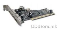USB 2.0 PCI Host Adapter 4port Gembird UPC204P