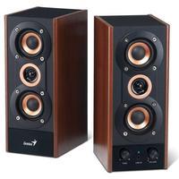 Genius Speaker 2.0, 20W RMS, SP-HF800A, Wood
