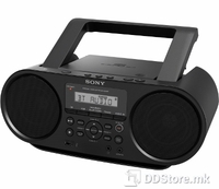 Portable Radio/CD/REC Player Sony ZSR-S60BT USB/BT/NFC Black