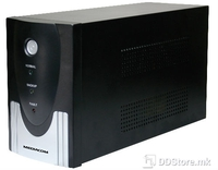 UPS Mediacom Security Solution 1300VA/720W w/AVR, Surge Protection, x4 Power Outlets