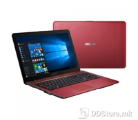 ASUS X540SC-XX025D (RED), Intel Quad-Core Pentium N3700 Processor (1.6-2.4GHz, 2M Cache, 6W, 14nm), 4GB DDR3 1600MHz (on-board), 500GB 5400rpm, DVD SuperMulti, Nvidia Geforce 810M (N15V-GL1) 1GB DDR3L, BT4.0, 33WHrs, 3-cell Li-ion Battery Pack, Red G