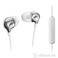 Earphones Philips w/Microphone SHE3705WT White