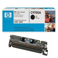 HP Toner  HP Color LaserJet C9700A Black Print Cartridge