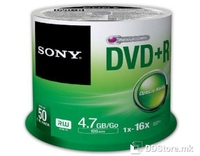 DVD+R 4.7GB 16x Sony 50DPR47SP 50pcs Bulk