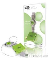 HUB US036 Sweex 4 port USB Grassy Green