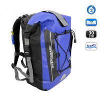 Overboard OB1054B, Waterproof Backpack blue, 30L