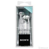 Earphones Sony MDR-EX450APW w/Microphone aluminium body White