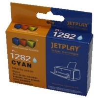 PTC EC-T1282, T01282, Cyan, (11ml), Ink Cartridge for Epson Stylus SX125, SX420W, SX425W, S22; Office BX305F, 305FW