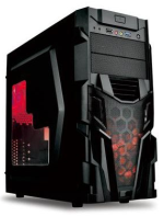 JNC DJA-F 11 Gaming Case 700W (500W RealP) 12cm fan , 2 SATA, 2 X big 4 pin LABEL