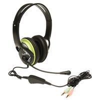 Genius Headset, Rotational, HS-400A, Green