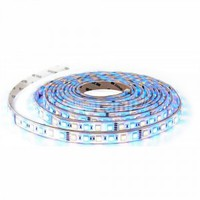 LED Strip SMD5050 - 60 LEDs RGB+White IP20 10W/m 12lm/led 120° SKU : 2159