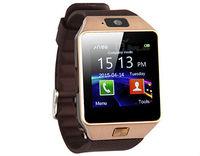 "Smart watch phone 1.54"" LDK V7 Gold w/SIM/0.3MP Camera/BT/Touch"