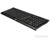 HP HP K2500 Wireless Keyboard, bežična RF, Dodatne tipke multimedija, Boja crna, Ostalo USB Nano dongle