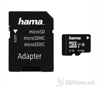 Hama 00114734 microSDHC 32GB Class 10 UHS-I 45MB/s + Adapter/Foto