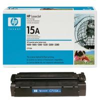 HP Toner  HP LaserJet C7115A Black Print Cartridge