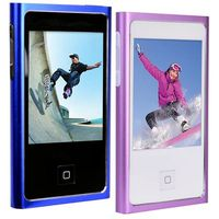 "MP4 Player 4GB Eclipse Touch Pro MP3/Video Player & Voice Rec. w/2.4"" LCD Touchscreen Lilac"